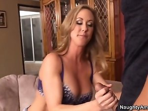 Ms. Love tries to massage the tension out of him