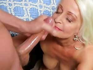 sexy granny 65y goes to porn