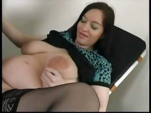 Pregnant Stella fucked by her old Doc...F70