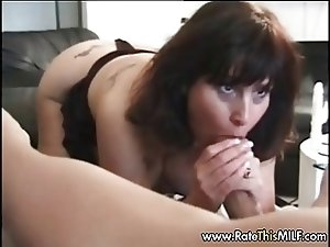 MILF taking on black cock and gets her face jizzed