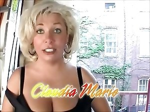 Chubby Blonde MILF with Huge Tits Tupped Well
