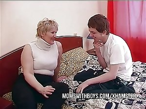BBW Mature Mom Seduces Sons Friend