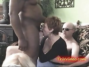 CUM sucking SLUTTY GRANNY