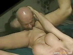 the old man fucks his sons wife