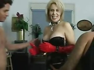 Mature Loves Anal Gangbang...F70